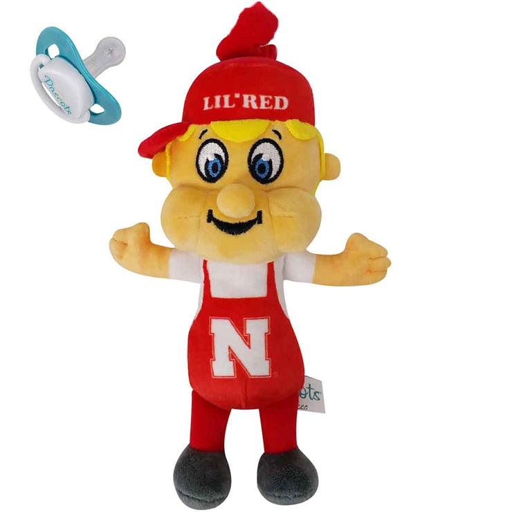Nebraska - Lil' Red Pacifier Holder COMING SOON