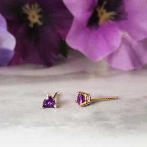 Essential 1/3CT Trillion Stud Earrings
