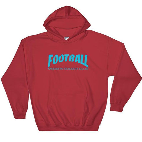 Football soccer Club Radical Red Pullover Hoodie - Modern Soccer Club