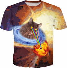 Space Lazer Eye Cat