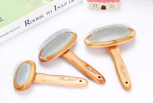 Bamboo Shedding Brush