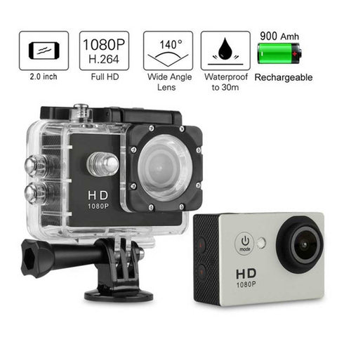 HD ACTION CAMERA COMPLETE SET