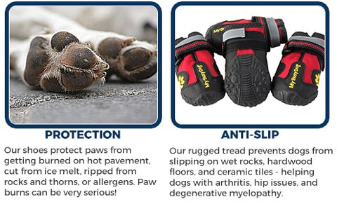My Busy Dog Secure Dog Boots Protection and Anti-Slip