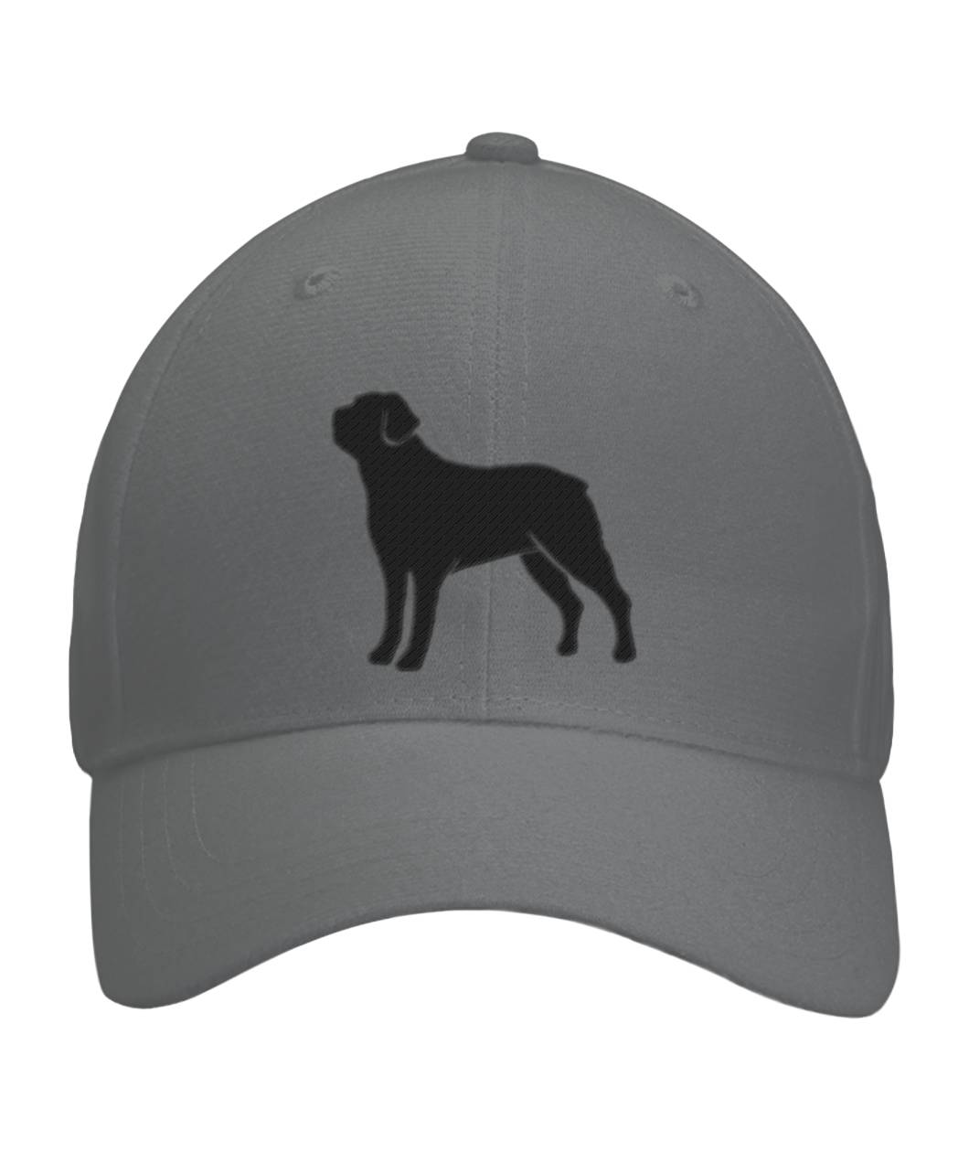 Rottweiler, Embroidered Fitted Cap