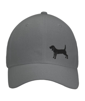 Beagle, Embroidered Fitted Cap