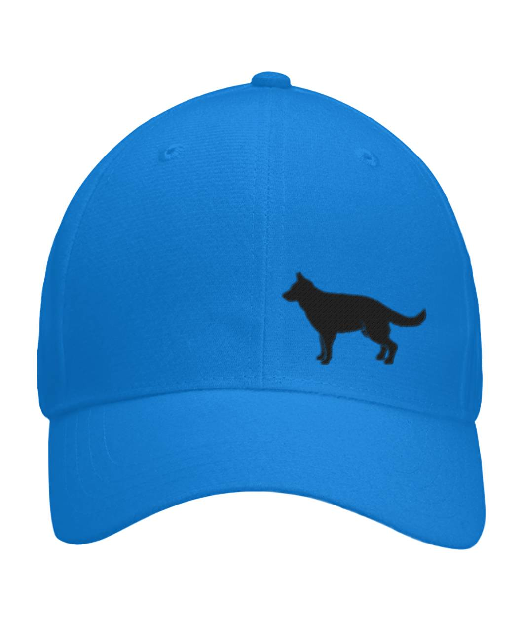 German Shepherd, Embroidered Fitted Cap