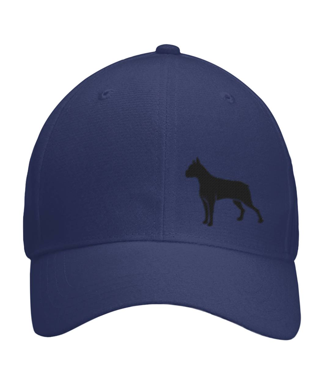 Boxer, Embroidered Fitted Cap