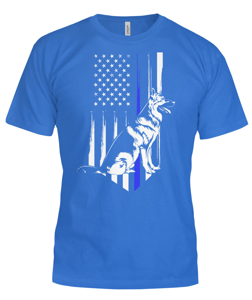 Thin Blue Line - Police K9 T-Shirt