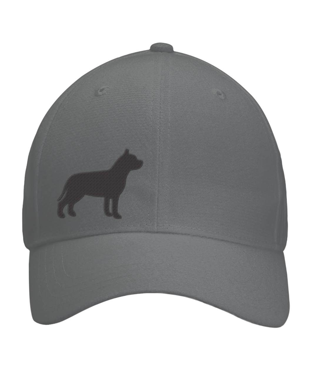 PIT BULL, EMBROIDERED FITTED CAP