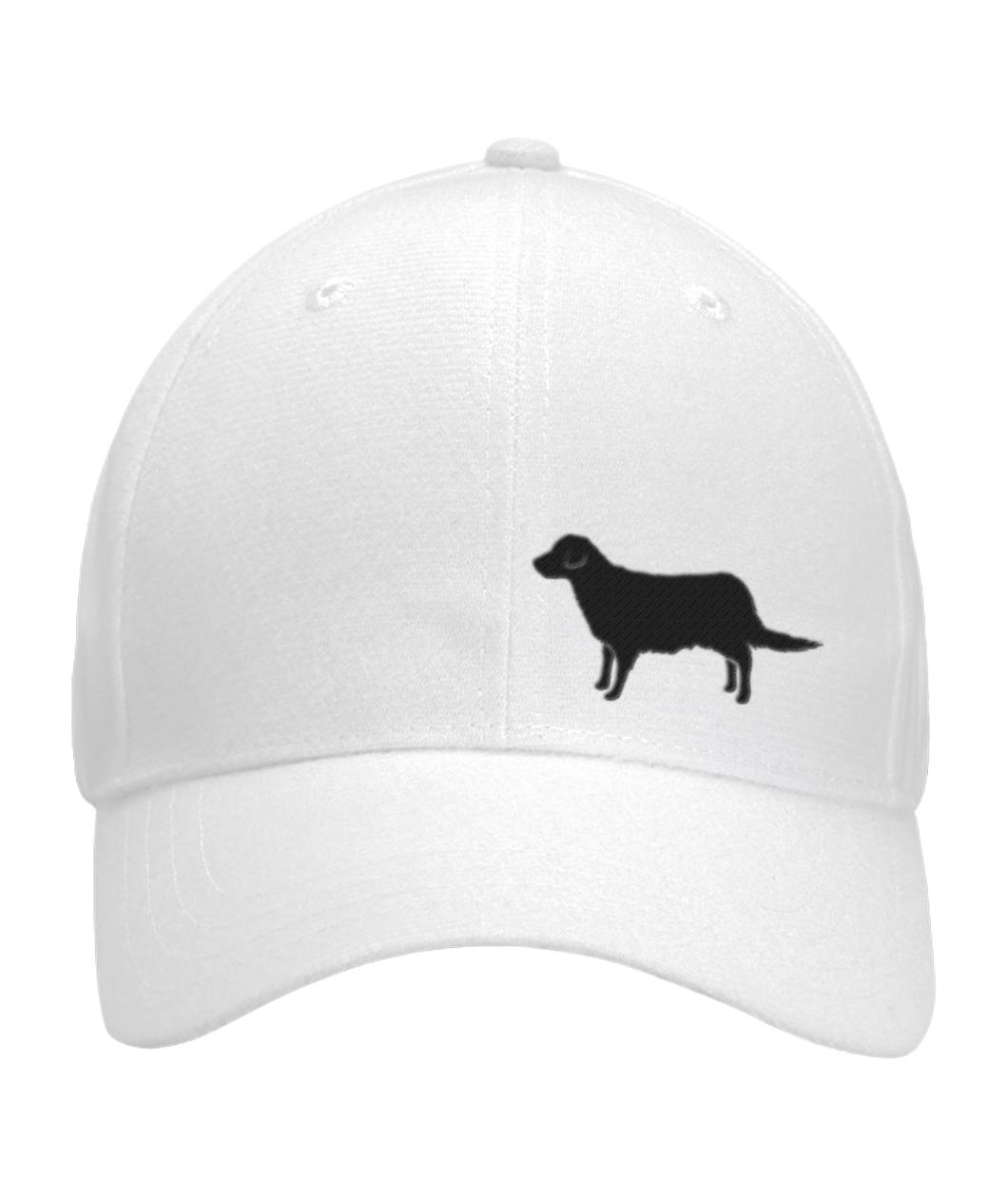Golden Retriever, Embroidered Fitted Cap