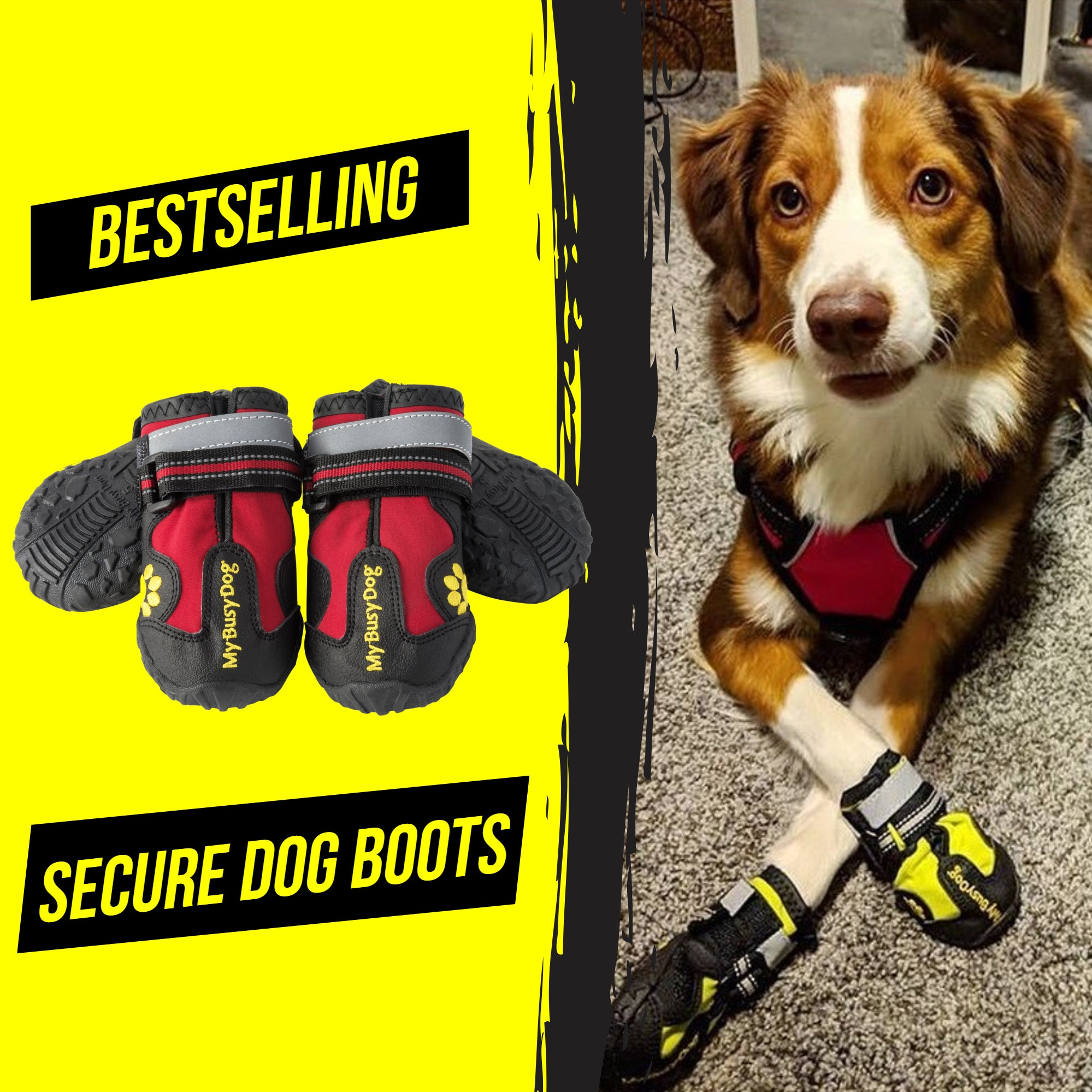 Secure Dog Boots
