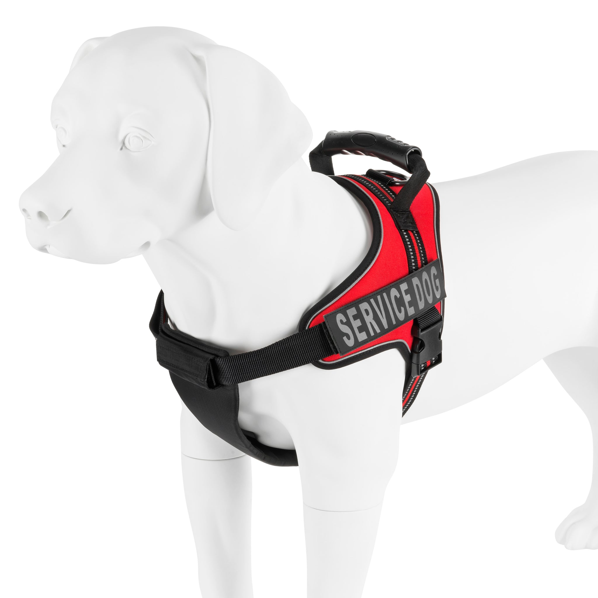 Service Dog Harness Vest - Removable Velcro Patches