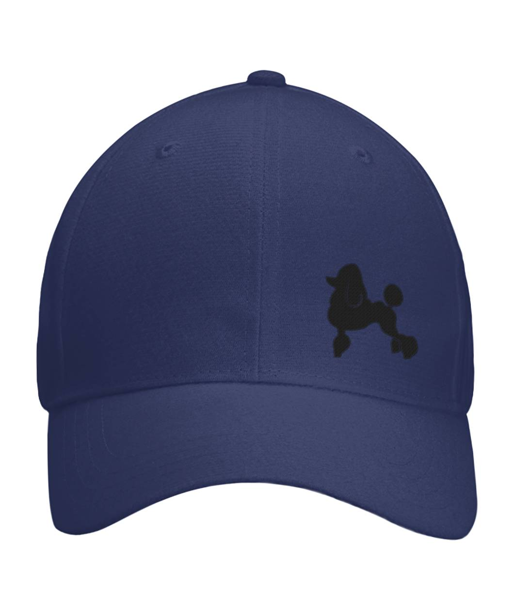 Poodle, Embroidered Fitted Cap