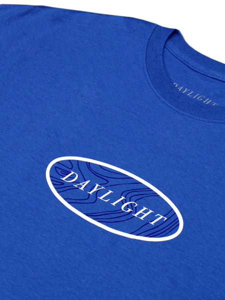 Opal logo tee - Royal blue
