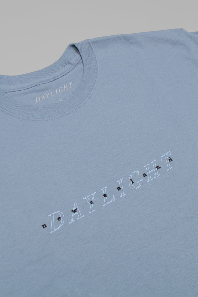Daylight - Tourist - T-shirt - Stone blue / Blue & Black