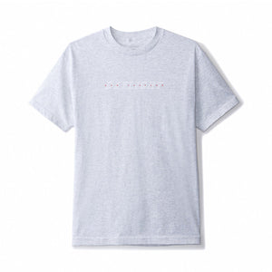 Tourist tee - Grey white red