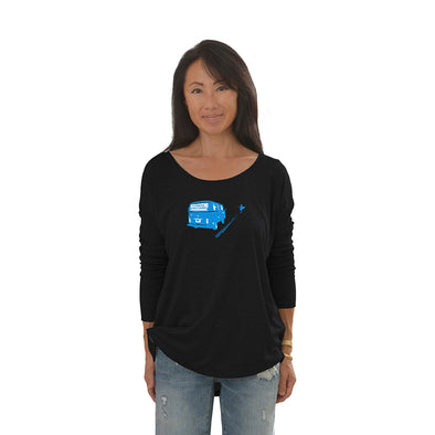 Women's Bus Long Sleeve Tee