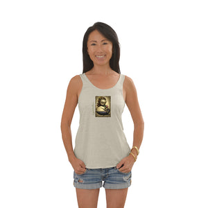 Women's Liquid Girl Tri-Blend Racerback Tank