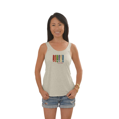 Women's Swatches Tri-Blend Racerback Tank