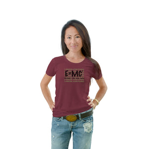 Women's E=MC Crew Neck T-shirt