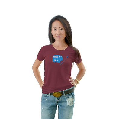 Women's Bus Crew Neck T-shirt