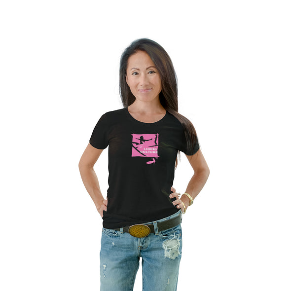 Women's Scratcher Surfer Crew Neck T-shirt