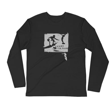 Men's Scratch Surfer Long Sleeve Fitted Crew