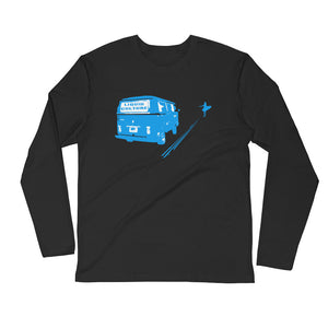 Men's Bus Long Sleeve Fitted Crew