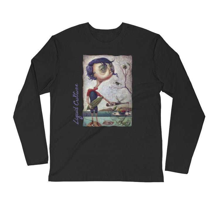 Men's Liquid Boy Long Sleeve Fitted Crew