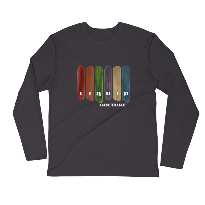 Men's Swatches Long Sleeve Fitted Crew