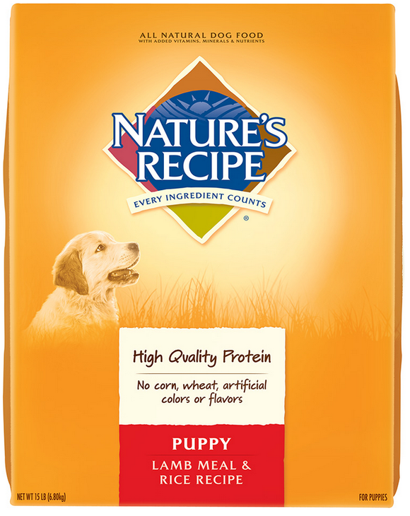 Nature's Recipe Puppy Lamb Meal And Rice Dry Food