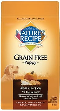 Nature's Recipe Grain Free Chicken, Sweet Potato, and Pumpkin Recipe Puppy Dry Dog Food