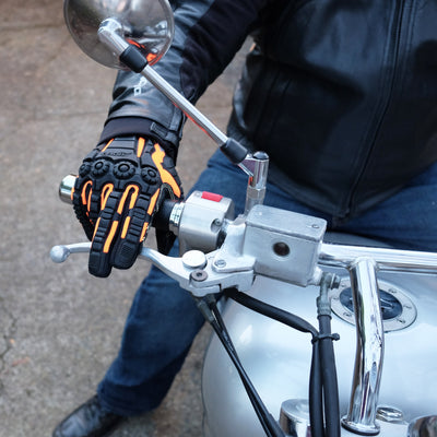 Why Motorcyclists Need Armored Gloves