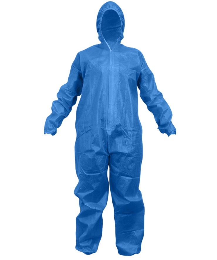 [Call-For-Pricing] Blue Standard Gown/Coverall