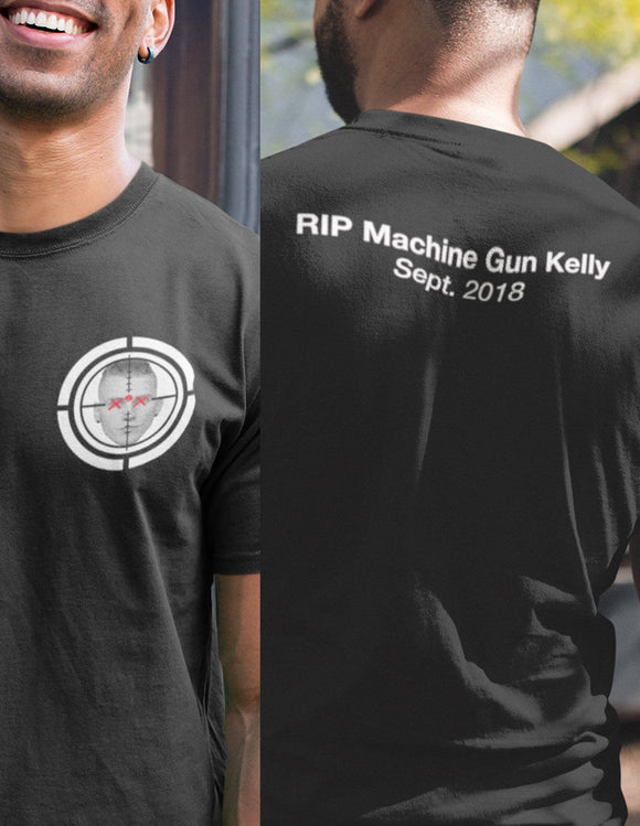 RIP Machine Gun Kelly Sept. 2018 - memesmerch