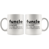 Funcle - Like A Dad, Only Cooler Mug - memesmerch