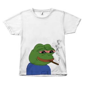 Smoking Pepe The Frog - memesmerch
