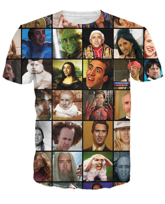 NC Rage Faces T-Shirt - memesmerch