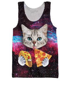 Taco Cat Tank Top - memesmerch