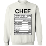Nutritional Facts - Chef - memesmerch