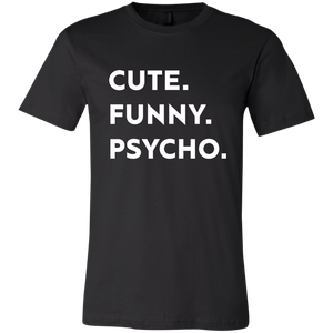 Cute. Funny. Psycho. - memesmerch