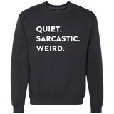 Quiet. Sarcastic. Weird. - memesmerch