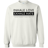 Inhale Love Exhale Hate - memesmerch