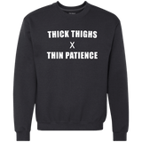 Thick Thighs x Thin Patience - memesmerch