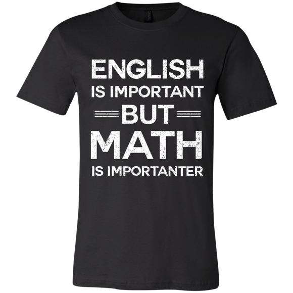 English is Important but Math is Importanter - memesmerch