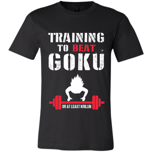 Training to Beat Goku or at least Krillin - memesmerch