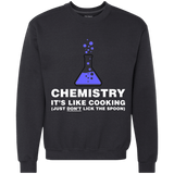 Chemistry It's Like Cooking Just Don't Lick The Spoon - memesmerch