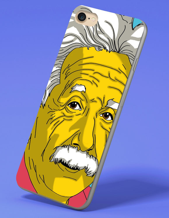 Albert Einstein iPhone Case - memesmerch