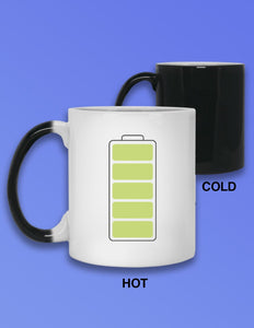 Battery Heat Mug - memesmerch