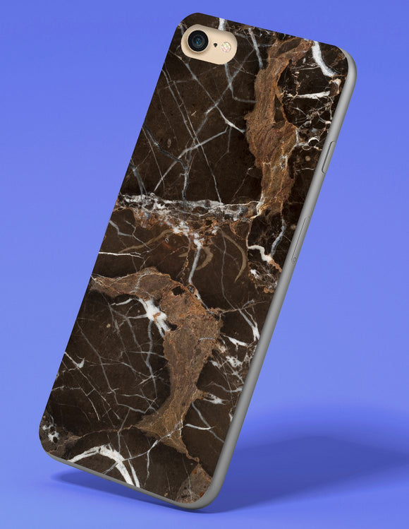 Black Marble iPhone Case - memesmerch